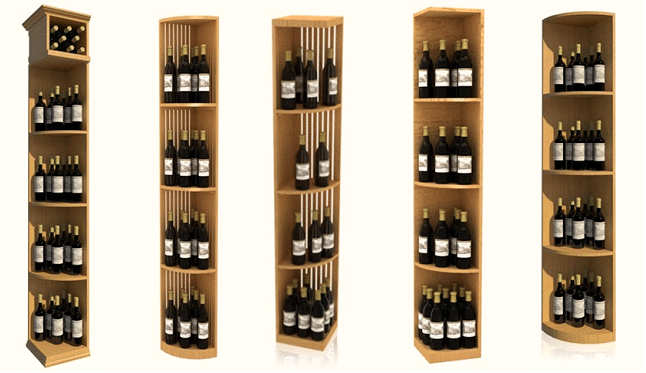 Modular Wine Racks Florida Quarter Round4