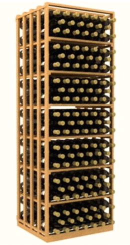Modular Wine Racks Florida Rectangular Bin5