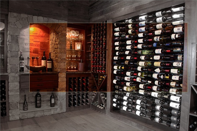 residential-wine-cellar-designs-using-metal-racking-from-vintage-view-florida